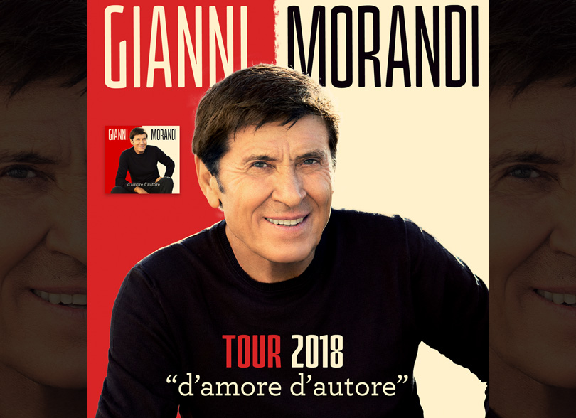 Gianni Morandi Lucca Summer Festival