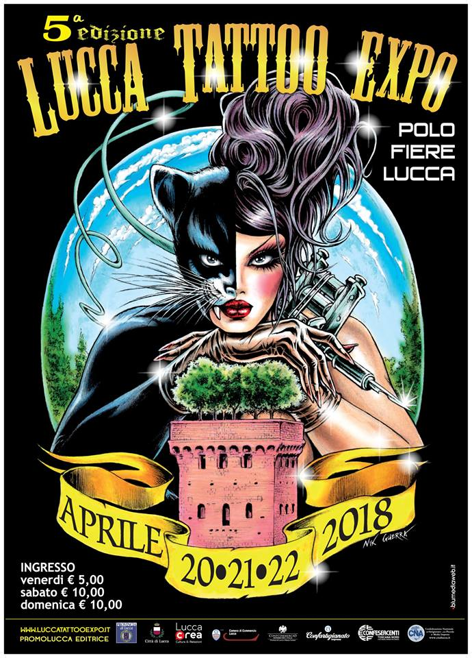 lucca tattoo expo 2018
