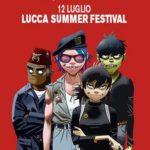 Gorillaz Lucca Summer Festival