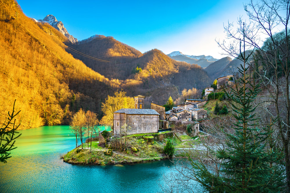 what to see in garfagnana
