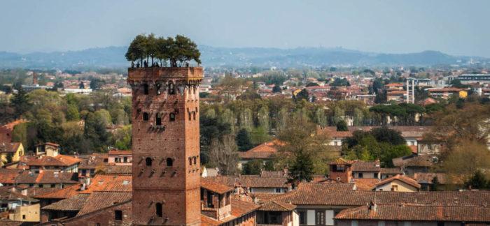 Башня Guinigi в Лукке