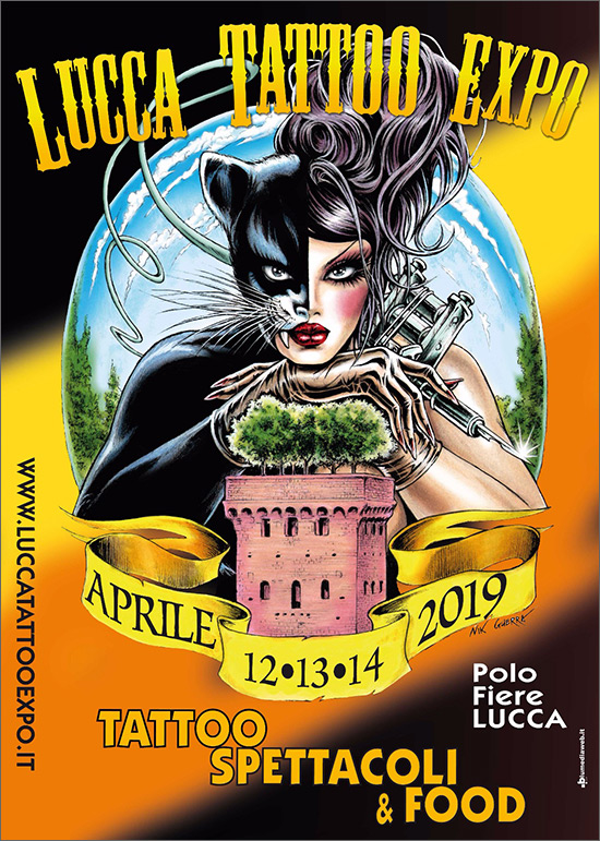 lucca tattoo expo 2019