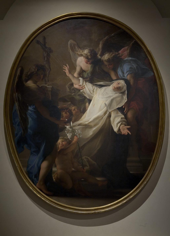 L'Estasi di Santa Caterina da Siena - Pompeo Batoni - Museo di Villa Guinigi