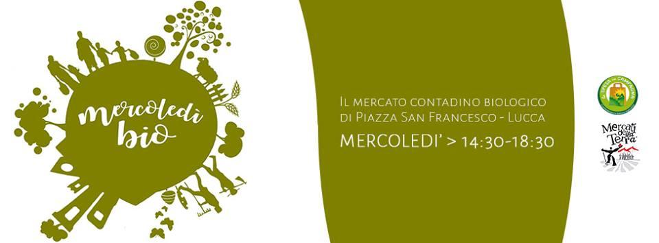 Mercoledìbio -mercato biologico a Lucca