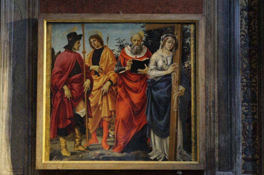 Pala Magrini - Filippino Lippi nella Chiesa di San Michele in Foro
