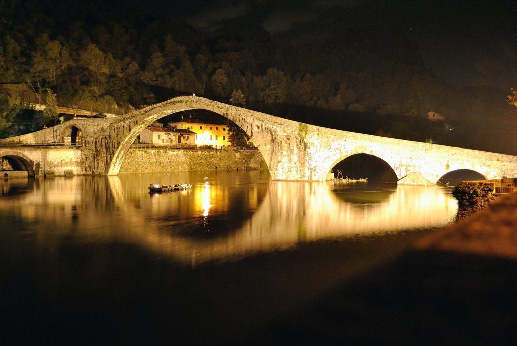 Ponte della Maddalena a Borgo a Mozzano
